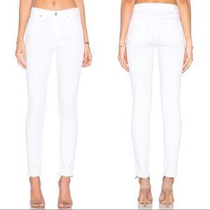 7FAMK White Skinny Gwenevere Jeans 27